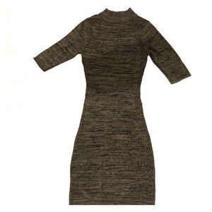 Charlotte Russe knit bodycon sweater dress
